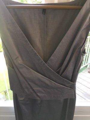 United Colors of Benetton, silbernes Damenkleid, Größe S