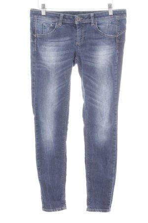 United Colors of Benetton Jeans skinny bleu foncé style décontracté