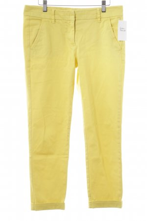 United Colors of Benetton Skinny Jeans gelb Casual-Look