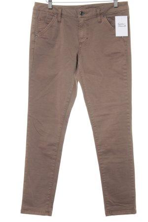 United Colors of Benetton Skinny Jeans hellbraun-beige Casual-Look