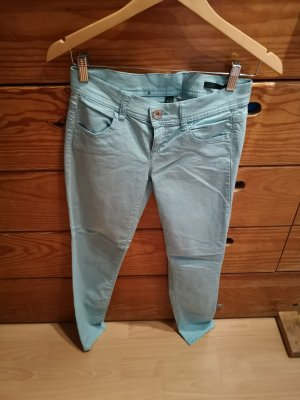 United Colors of Benetton Skinny Stretch 34 türkis/blau