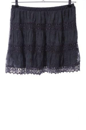 United Colors of Benetton Kanten rok zwart casual uitstraling