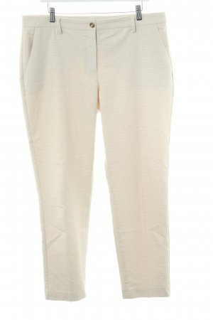 United Colors of Benetton Stoffhose beige-creme Aztekenmuster Casual-Look