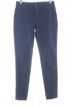 United Colors of Benetton Stoffhose dunkelblau Casual-Look