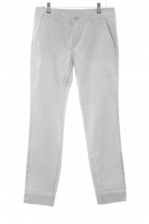 United Colors of Benetton Stoffhose hellgrau Casual-Look