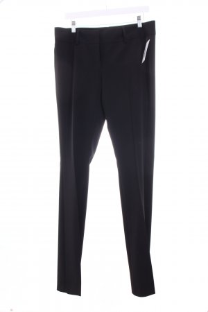 United Colors of Benetton Stoffhose schwarz Business-Look