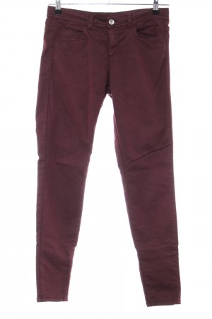 United Colors of Benetton Stretch Trousers red casual look