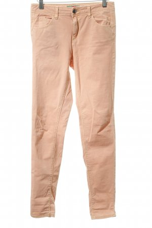United Colors of Benetton Stretchhose apricot Casual-Look