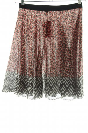 United Colors of Benetton Stretch Skirt abstract pattern casual look