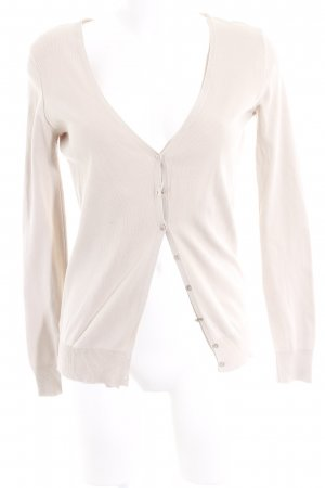 United Colors of Benetton Strick Cardigan creme Casual-Look