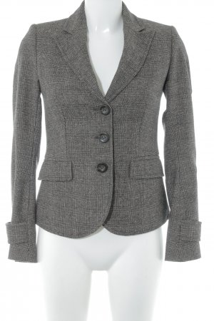United Colors of Benetton Blazer en maille tricotée motif pied-de-poule