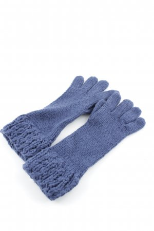United Colors of Benetton Knitted Gloves slate-gray casual look
