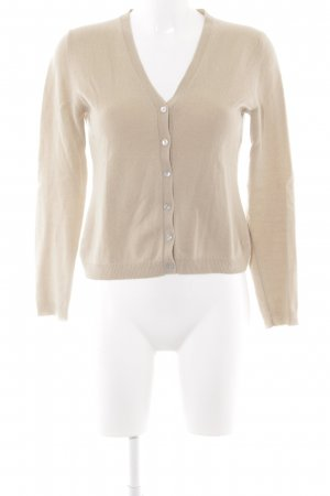 United Colors of Benetton Strickjacke beige Casual-Look