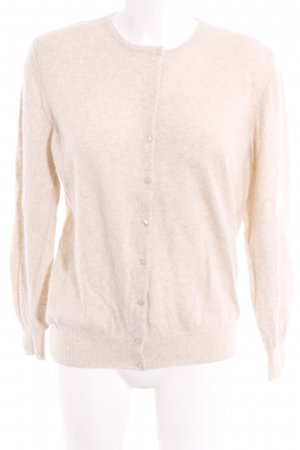 United Colors of Benetton Strickjacke creme Casual-Look
