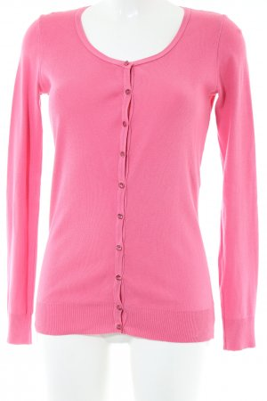United Colors of Benetton Strickjacke pink Casual-Look