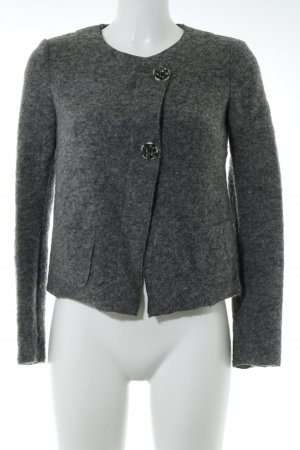 United Colors of Benetton Strickjacke grau Casual-Look