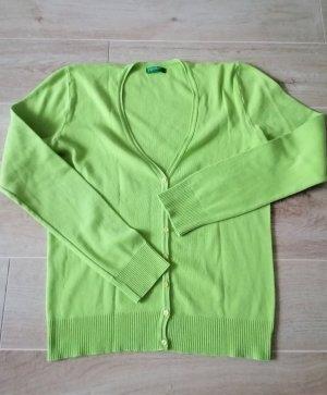 United Colors of Benetton Strickjacke#Grün#Casual-Look