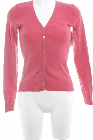 United Colors of Benetton Strickjacke magenta Casual-Look