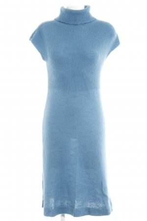United Colors of Benetton Strickkleid petrol Casual-Look