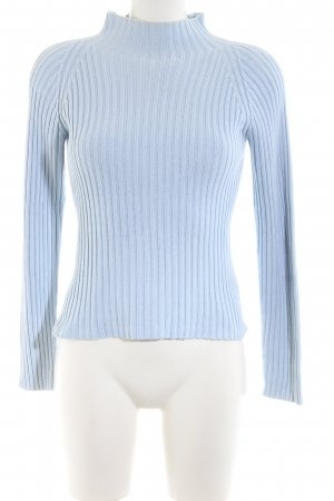 United Colors of Benetton Strickpullover blau Casual-Look