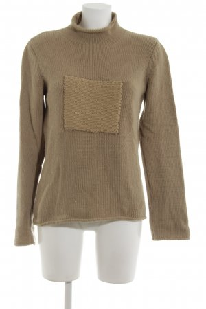 United Colors of Benetton Strickpullover braun Casual-Look