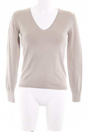 United Colors of Benetton Strickpullover beige Casual-Look