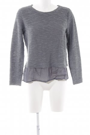 United Colors of Benetton Strickpullover grau Casual-Look