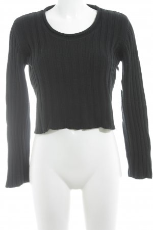 United Colors of Benetton Strickpullover schwarz Casual-Look