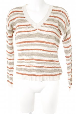 United Colors of Benetton Strickpullover Streifenmuster Casual-Look