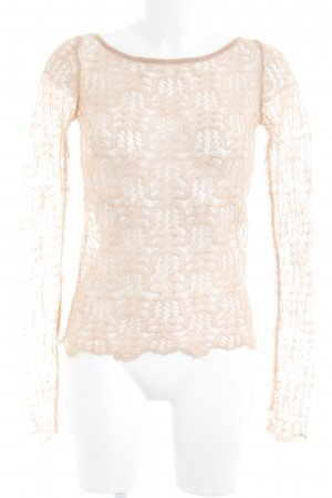 United Colors of Benetton Strickshirt nude Boho-Look
