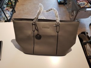 United Colors of Benetton Shopper grey polyurethane