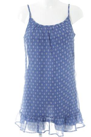United Colors of Benetton Trägerkleid kornblumenblau florales Muster