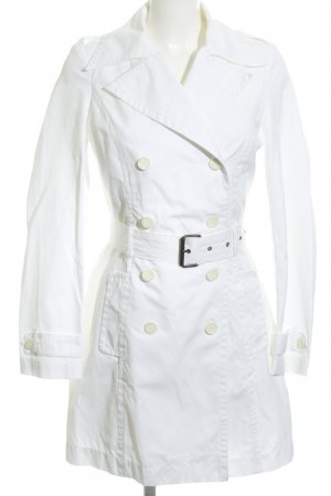 United Colors of Benetton Trenchcoat weiß Business-Look
