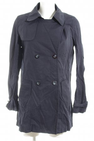 United Colors of Benetton Trenchcoat blau Casual-Look
