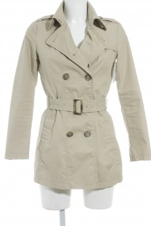 United Colors of Benetton Trenchcoat creme Casual-Look