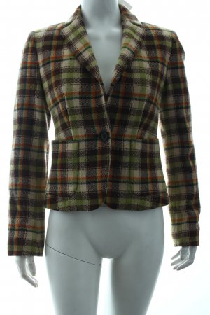 United Colors of Benetton Woll-Blazer Karomuster Brit-Look