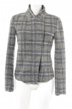 United Colors of Benetton Wolljacke Karomuster Casual-Look