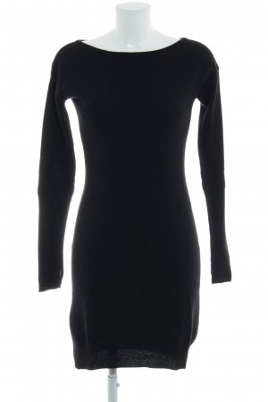 United Colors of Benetton Woolen Dress black simple style