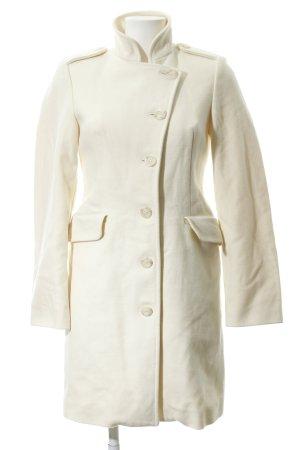 United Colors of Benetton Wool Coat cream classic style
