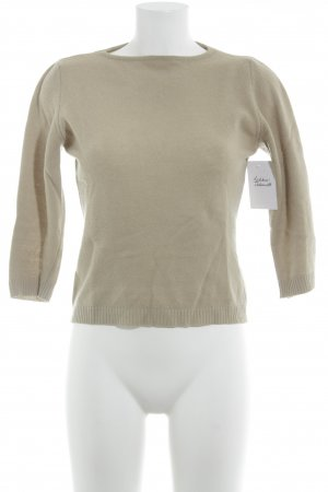 United Colors of Benetton Wollpullover camel Casual-Look