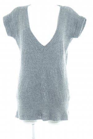United Colors of Benetton Wollpullover grau Casual-Look