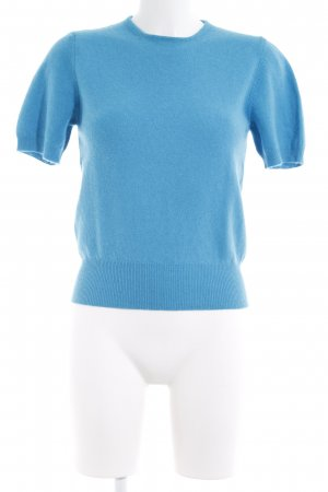 United Colors of Benetton Wollpullover hellblau Casual-Look
