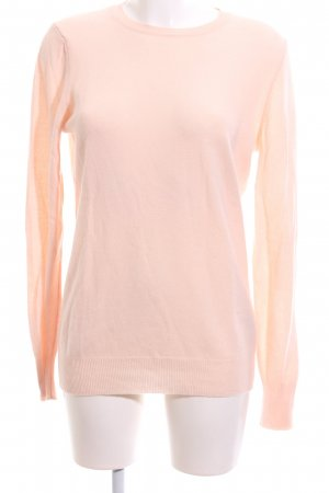 United Colors of Benetton Wollen trui nude casual uitstraling