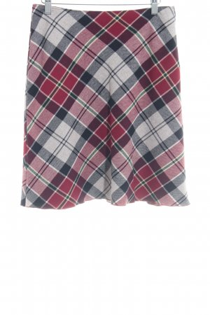 United Colors of Benetton Wool Skirt check pattern classic style