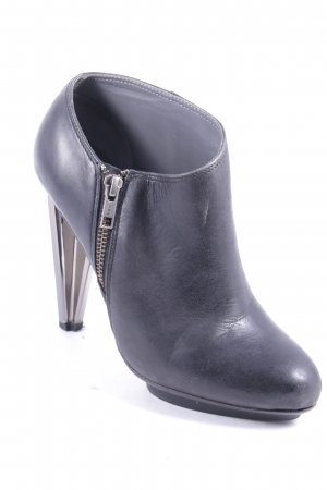 United nude Ankle Boots anthrazit-schwarz Street-Fashion-Look