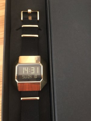United nude Digital Watch black-gold-colored