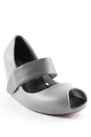 United nude Keil-Pumps grau minimalistischer Stil