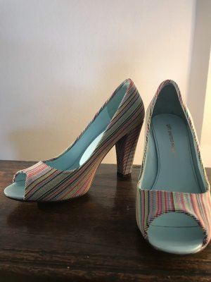 "United Nude ""Peep Toe"" Cotton Candy"