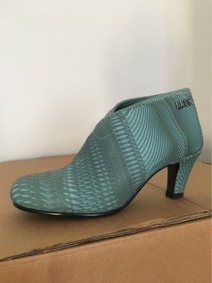 United nude Chaussure à talons carrés turquoise-bleu pétrole