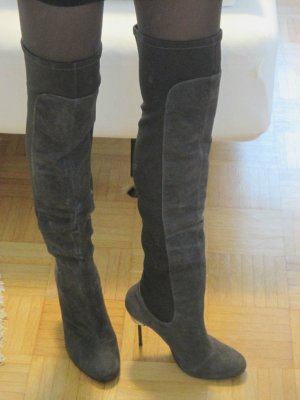 United Nude Thigh High Overknee Stiefel grau 41 neu